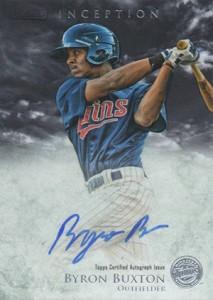 2013 Bowman Inception Prospect Autographs Byron Buxton