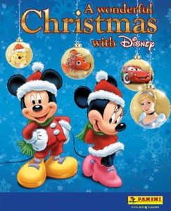 2013 Panini A Magical Christmas with Disney Stickers 1