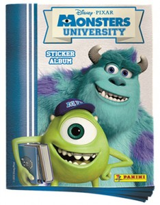 2013 Panini Monsters University Stickers Album