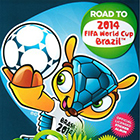 2013 Panini Road to 2014 FIFA World Cup Soccer Stickers