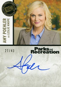 2013 Press Pass Parks and Recreation Autographs Guide 2