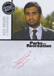 2013 Press Pass Parks and Recreation Autographs Guide 1