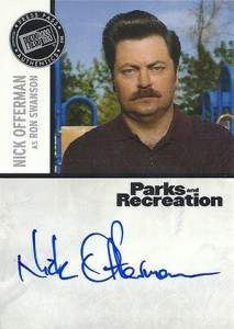 2013 Press Pass Parks and Recreation Autographs Guide 9