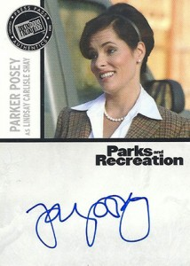 2013 Press Pass Parks and Recreation Autographs Guide 10