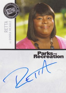 2013 Press Pass Parks and Recreation Autographs Guide 12
