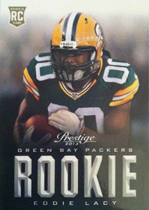 Eddie Lacy Rookie Card Checklist and Visual Guide 20