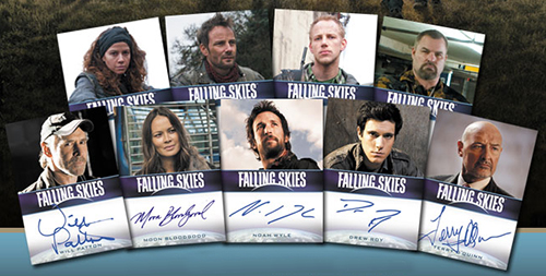 2013 Rittenhouse Falling Skies Season 2 Trading Cards 3