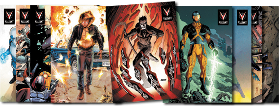 2013 Rittenhouse Valiant Comics Preview Set Trading Cards 1