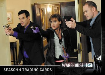 2013 Rittenhouse Warehouse 13 Season 4 Episodes 1 Thru 10 Trading Cards 29