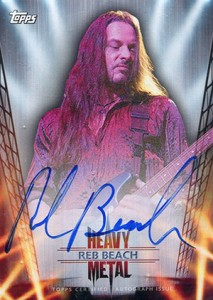 Axl Rose and the 2013 Topps Archives Baseball Heavy Metal Autographs Lineup 7
