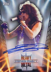 Axl Rose and the 2013 Topps Archives Baseball Heavy Metal Autographs Lineup 10