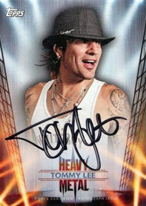 Axl Rose and the 2013 Topps Archives Baseball Heavy Metal Autographs Lineup 11