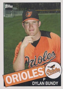 2013 Topps Archives New Errors Dylan Bundy