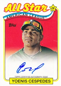 2013 Topps Archives Baseball Retail Chase Inserts Proving Tough, Selling Strong 3