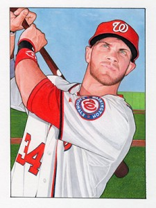 2013 Topps National Sports Collectors Convention 52 Bowman Bryce Harper1 225x300 Image