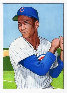 2013 Topps National Sports Collectors Convention 52 Bowman Ernie Banks 218x300 Image