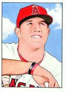 2013 Topps National Sports Collectors Convention 52 Bowman Mike Trout 212x300 Image