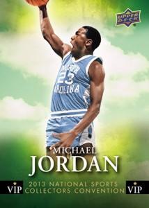 2013 Upper Deck NSCC VIP Michael Jordan