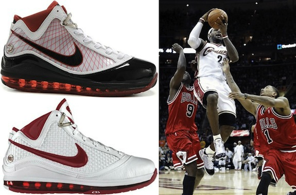8448355500896 Complete Visual History of the Nike LeBron James Shoe Line 7