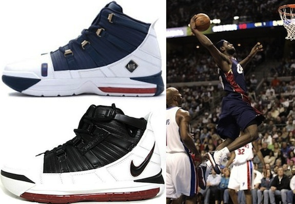 new concept e0d0d 1c447 Complete Visual History of the Nike LeBron James Shoe Line 3