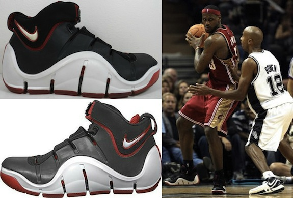Complete Visual History of the Nike LeBron James Shoe Line 4