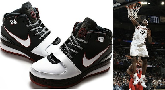 Nike Zoom LeBron VI 6 LeBron James Shoe