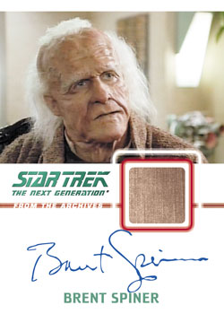 2013 Rittenhouse Star Trek: The Next Generation Heroes and Villains Trading Cards 27