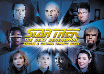2013 Rittenhouse Star Trek: The Next Generation Heroes and Villains Trading Cards 26