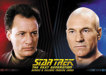 2013 Rittenhouse Star Trek: The Next Generation Heroes and Villains Trading Cards 28