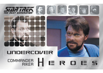 2013 Rittenhouse Star Trek: The Next Generation Heroes and Villains Trading Cards 25