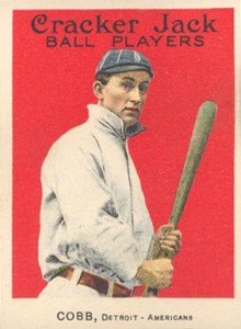 1914 Cracker Jack Ty Cobb