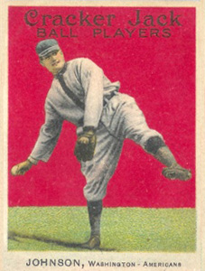 1914 Cracker Jack Walter Johnson