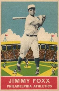 1933 Delong Jimmie Foxx