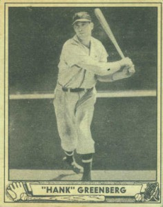 1940 Play Ball Hank Greenberg
