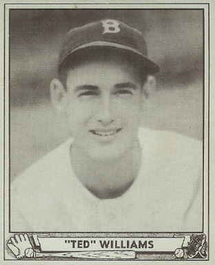 1940 Play Ball Ted Williams
