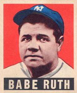 1948 Leaf Babe Ruth