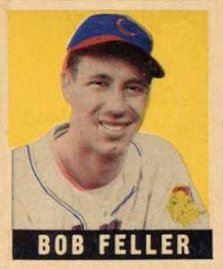 Top 10 Bob Feller Baseball Cards 9