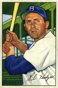 Top 10 Gil Hodges Baseball Cards 4