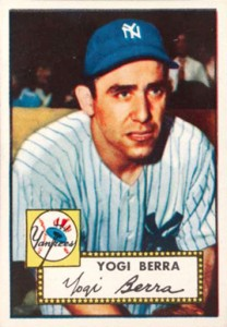 Celebrate the Life of Yogi Berra with His Top Baseball Cards 7