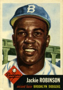 1953 Topps Jackie Robinson