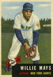 Vintage Willie Mays Baseball Card Timeline: 1951-1974 4