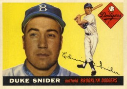 Top 10 Duke Snider Baseball Cards 9