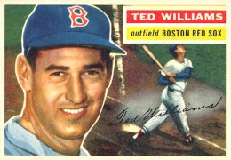 1956 Topps Ted Williams 260x180 Image