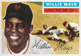 1956 Topps Willie Mays 260x181 Image