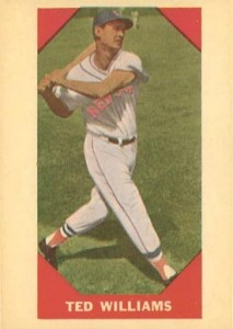 1960 Fleer Ted Williams 213x300 Image