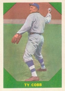 1960 Fleer Ty Cobb 214x300 Image