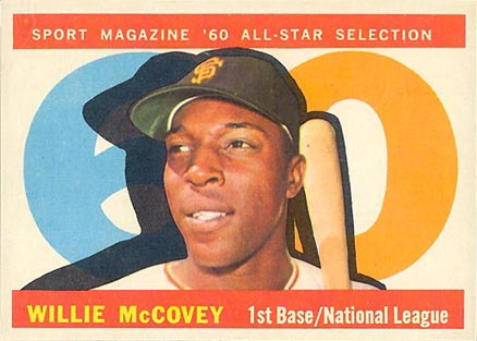 Top 10 Willie McCovey Cards 9