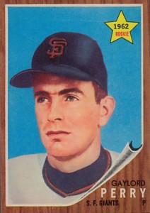 1962 Topps Gaylord Perry 212x300 Image