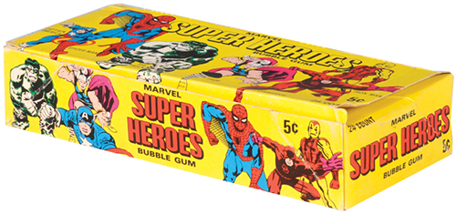 1966 Donruss Marvel Super Heroes Box