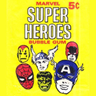 1966 Donruss Marvel Super Heroes Trading Cards